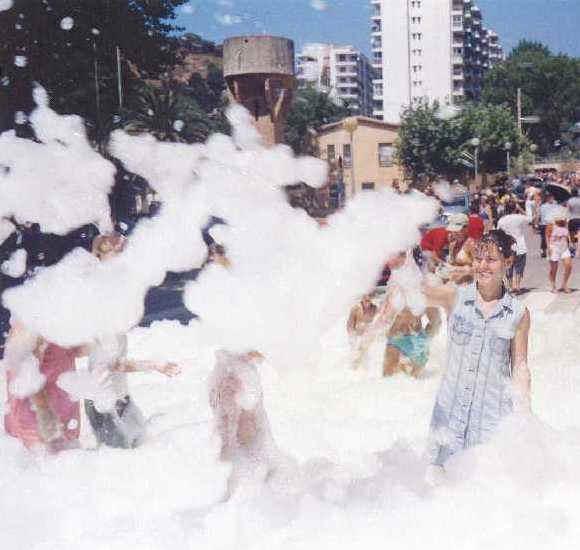 foam machine rental prices